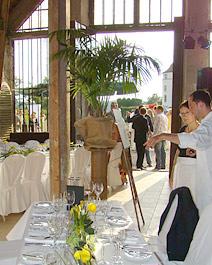 Orangerie Schloss Langenburg für Festlichkeiten zu jedem Anlass, wie Hochzeit, Jubilaen, Geburtstage, Firmenevents ...