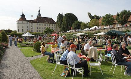 Eventkonzept für Fürstliche Gartentage Schloss Langenburg